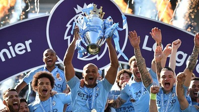 Manchester city retains 2nd title ended Rule in EPL with highest points in single season, Stats.