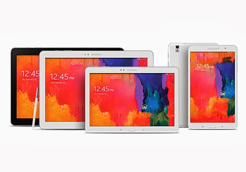 Samsung Galaxy Note Pro 12.2, Galaxy Tab Pro 12.2, 10.1 and 8.4 tablets launched