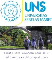 Lowongan Kerja Universitas Sebelas Maret (UNS)