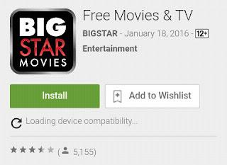 big star movies aplikasi untuk nonton streaming film dan acara tv terbaik 2016