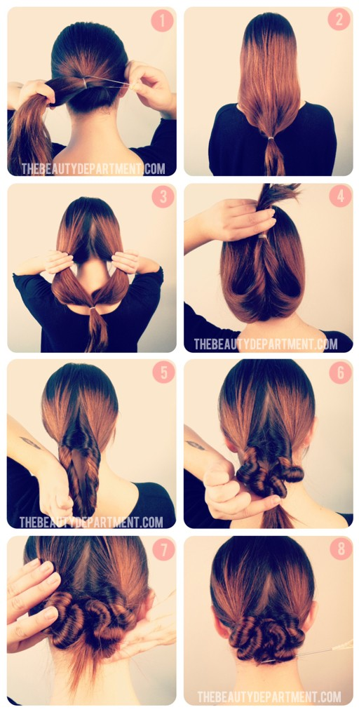 HOW TO - the autumn hair knot