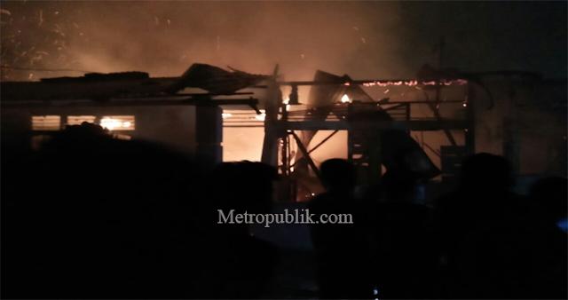 4 Unit Rumah di Medan Area Terbakar