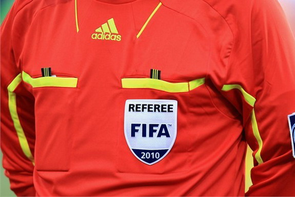 The arrest of a squad of referees caused a delay for a South African Premiership match