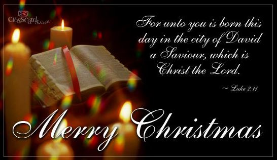Religious Christian Merry Christmas Images