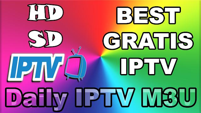 Best GRATIS IPTV Website free daily iptv m3u playlist