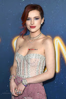 Bella Thorne looks stunnign in a designer gown at the Premiere of Midnight Sun ~  Exclusive Galleries 012.jpg