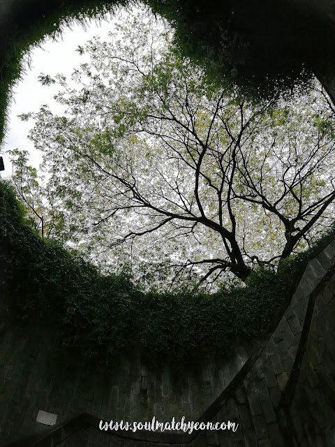 Hyeon's Travel Journal; Fort Canning Park; Spiral Staircase
