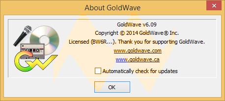 GoldWave v9.06