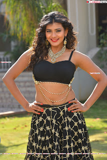 Hebah Patel in Spicy Black Choli and Ghagra HD Pics  041.jpg