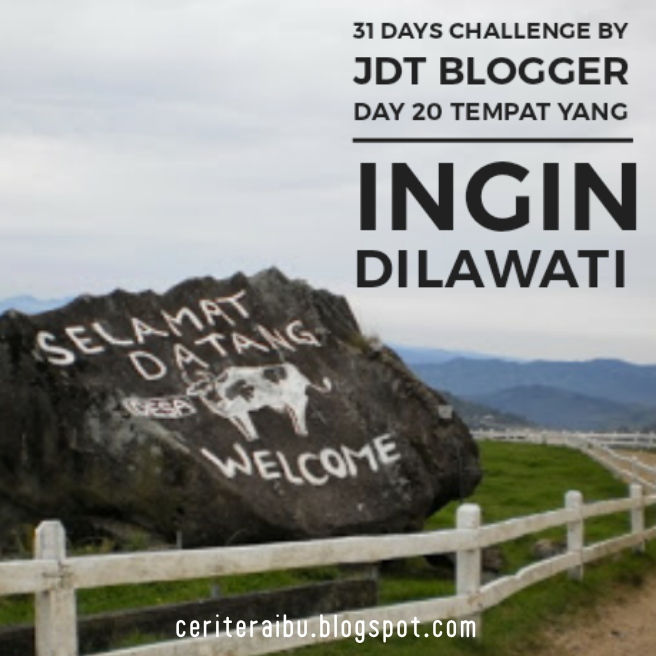31 Days Challenge by JDT Blogger - Day 20