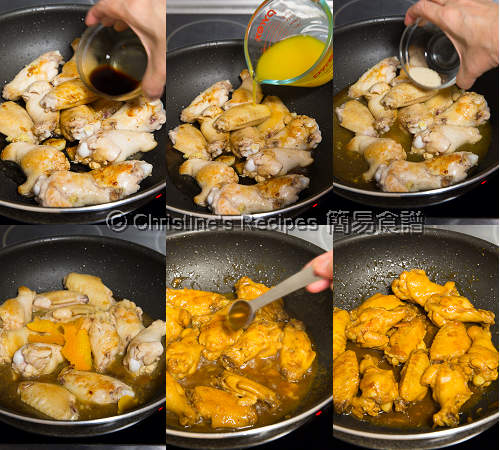 Orange Chicken Wings Procedures02