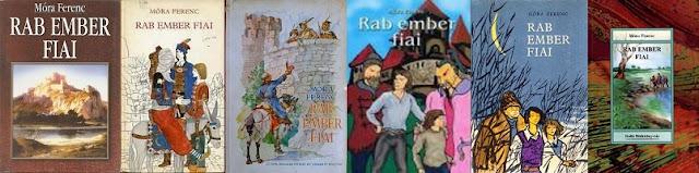 Rab ember fiai könyvborítók