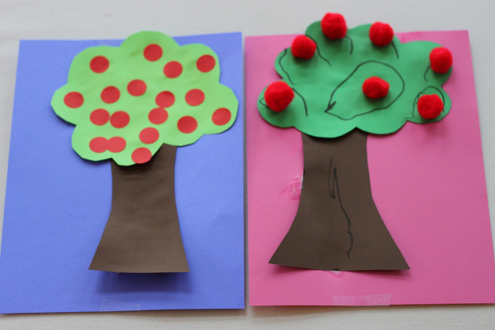 Playing House Apple Tree Craft
