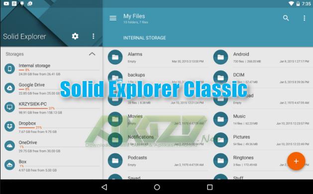 Solid Explorer Classic v1.7.2 Apk Terbaru build 92 Unlocked