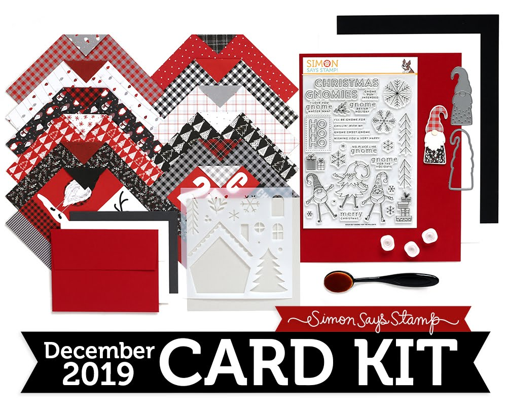 Simon's December Card Kit