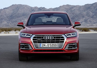2017 Audi Q5 Luxury SUV Front Profile wallpaper