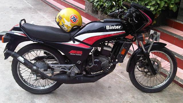 Binter Kawasaki AR125