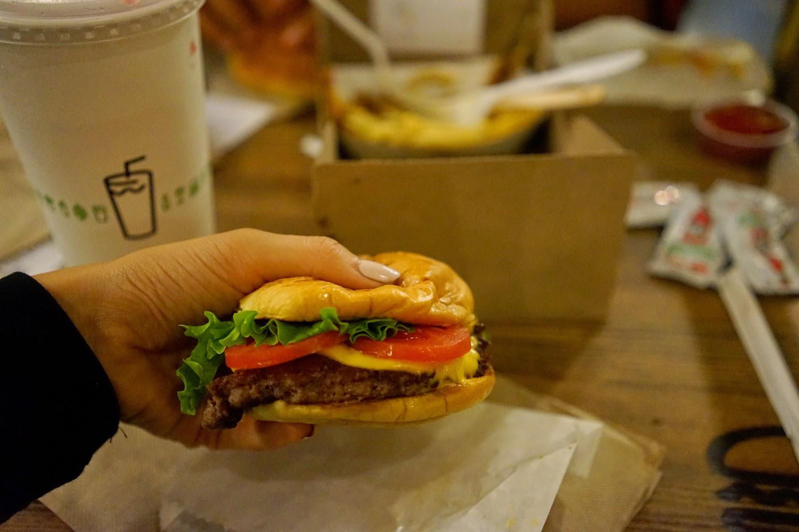 shake shack burger