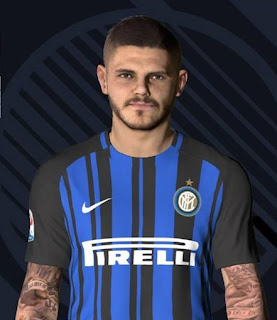 PES 2017 Faces Mauro Icardi by Ben Hossam FaceMaker