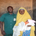 "Photos: ""My husband is back to life"" Wife of Kaduna man who got penis transplant after accident, gives birth to baby girl"
