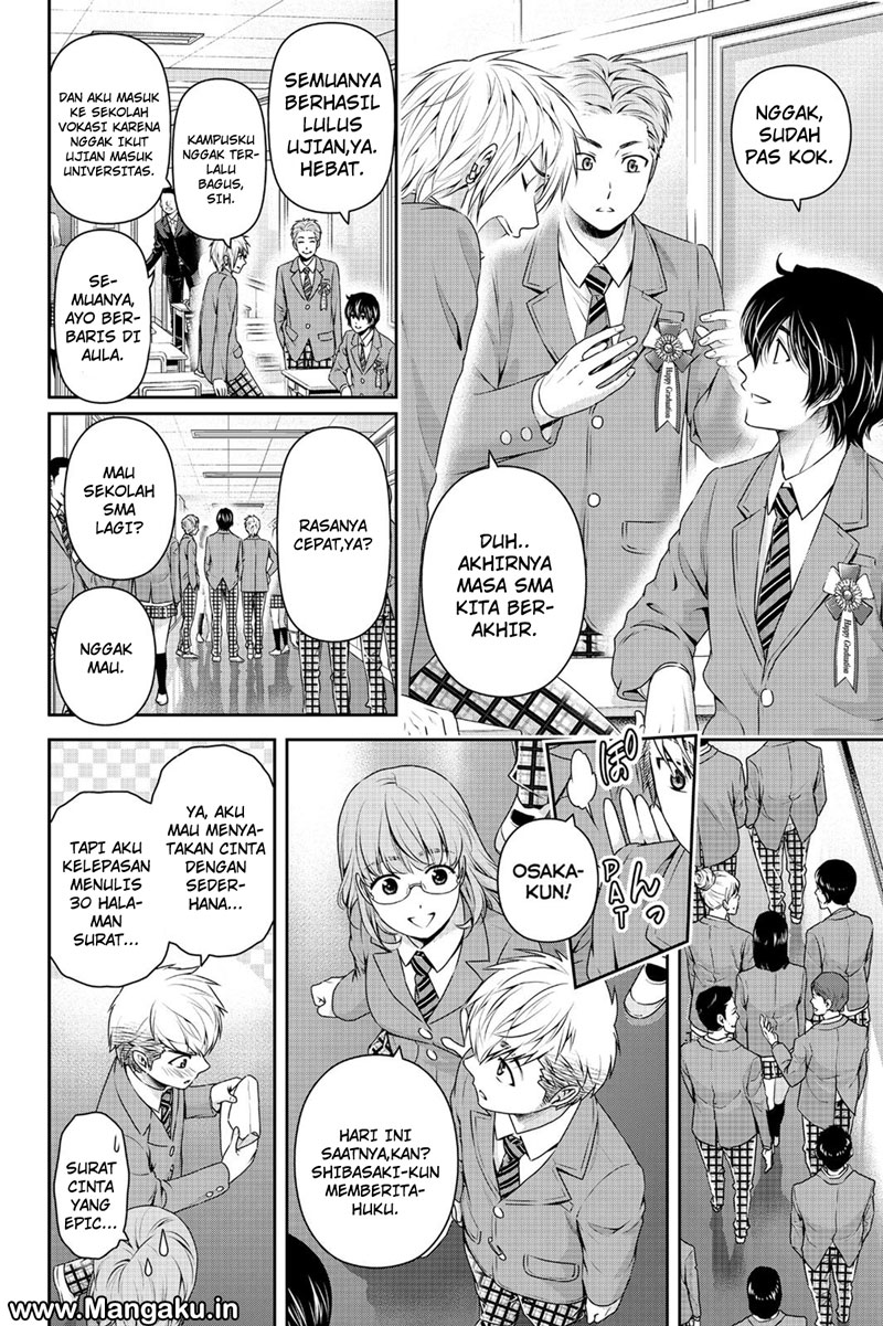 Baca Komik Domestic na Kanojo Chapter 136 Bahasa Indonesia Kintamaindo