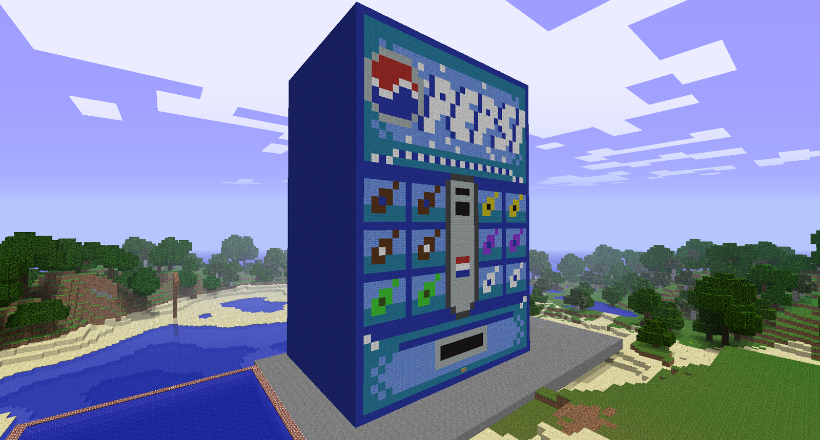 Cool Machines To Build Minecraft More Awesome Minecraft Creations