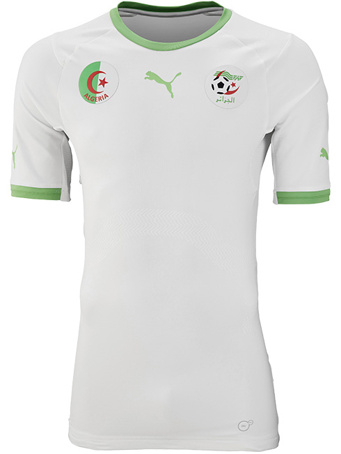 4e7e2f820a7 Algeria 2014 World Cup Home Kit. This is the new Algeria 2014 World Cup  Home Jersey made by Puma.