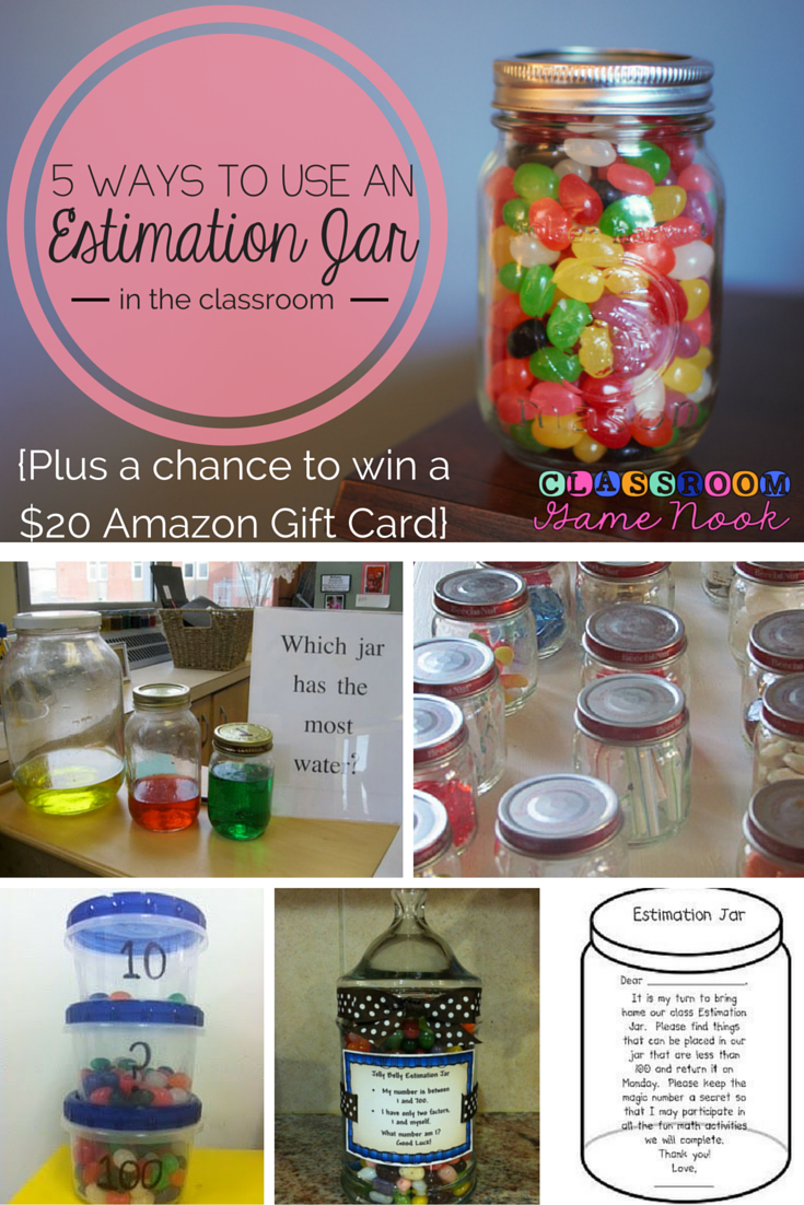 Classroom Gift Ideas For Students ~ The classroom game nook ways to use an estimation jar