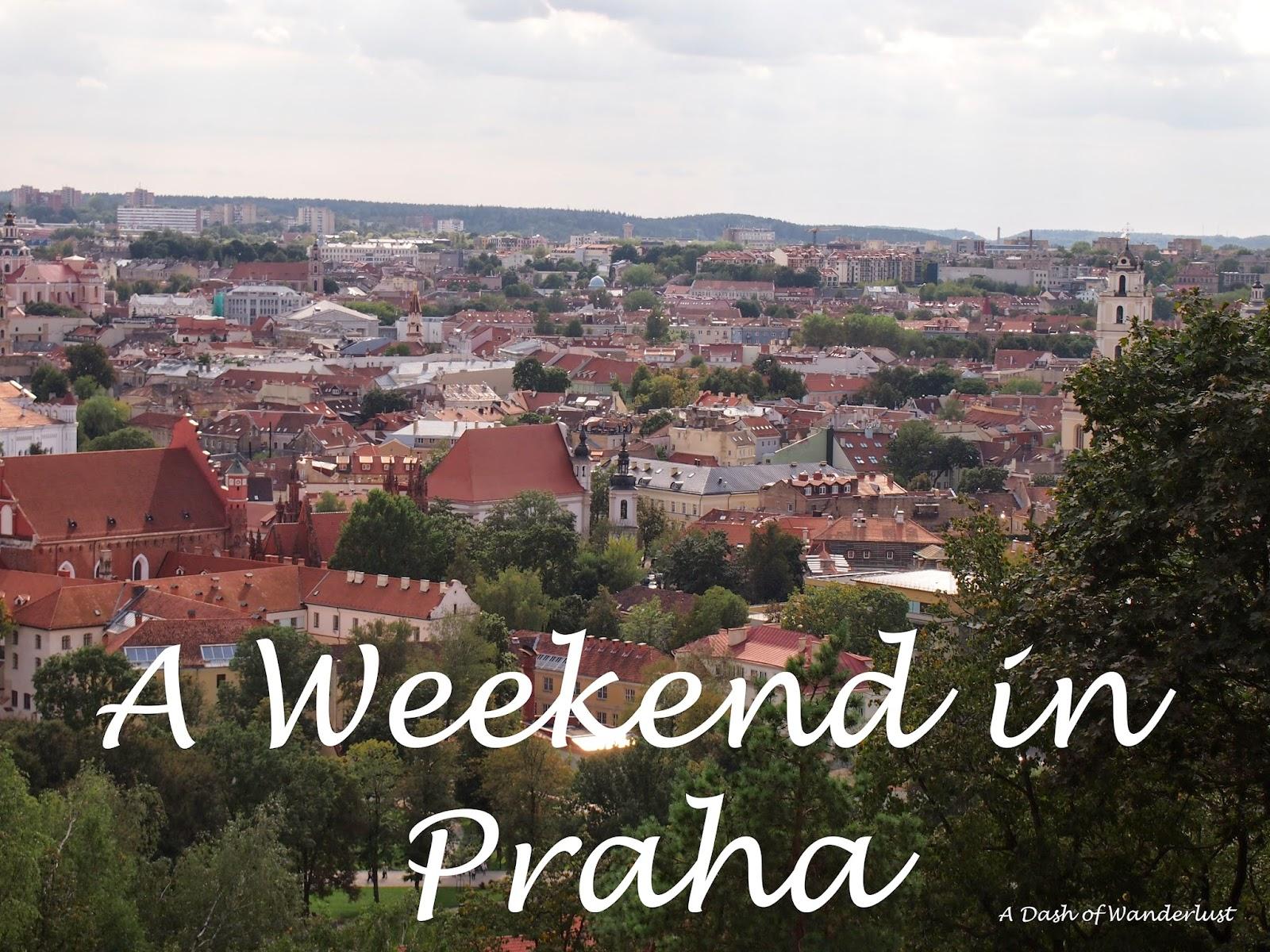 A Weekend in Prague