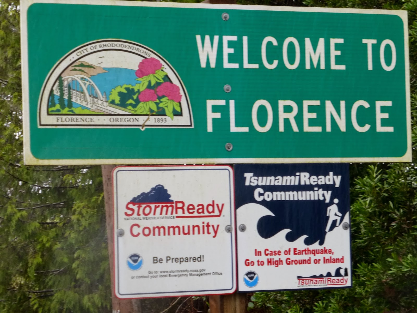 Fred Meyer Florence Oregon >> Seniors Walking Across America Post 1238 February 10 2014