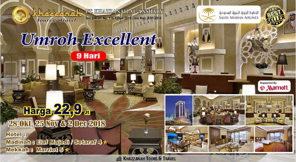 Travel Khazzanah Tour Umroh Exellent 2018