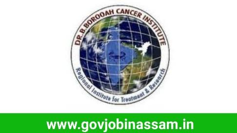 Dr B Borooah Cancer Institute Recruitment 2018