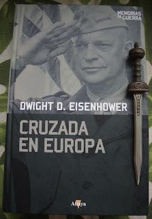Portada del libro Cruzada en Europa, de Dwight D. Eisenhower