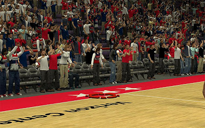 NBA 2K13 Washington Wizards Crowd Fix