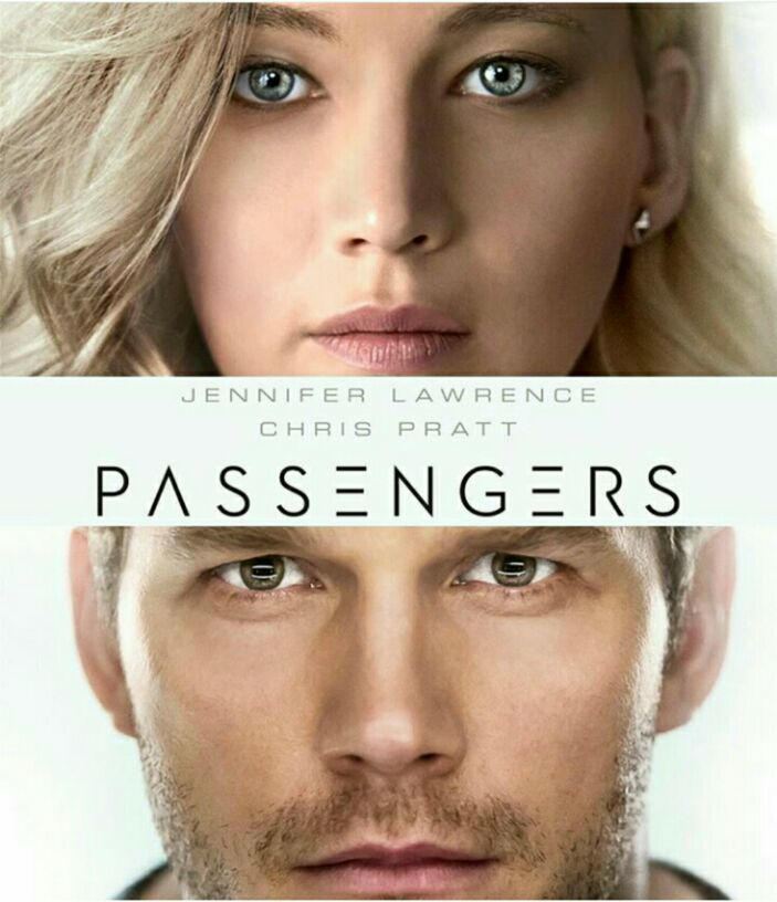 Passengers movie film poster