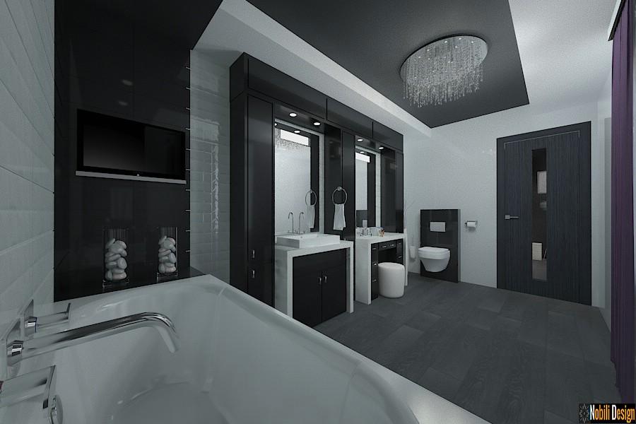 Vila cu 5 camere amenajata in stil modern - Design interior living Bucuresti