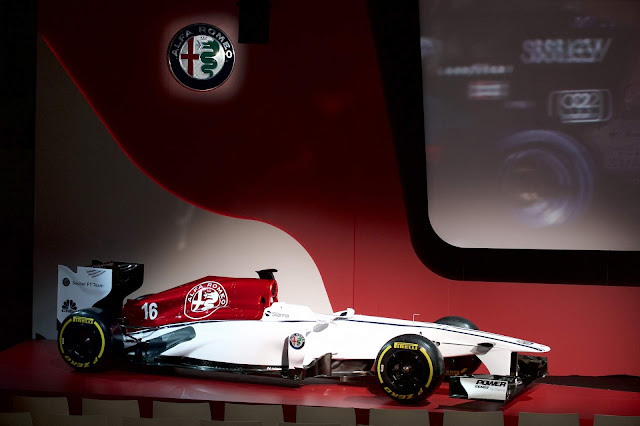 Alfa Romeo F1 Team 2018