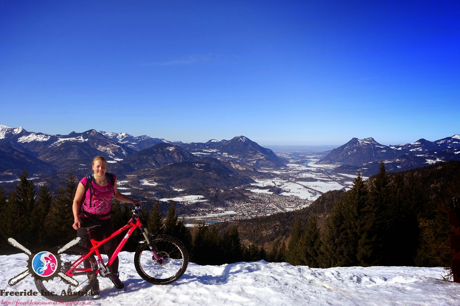 Kufsteiner Land Biken im Winter