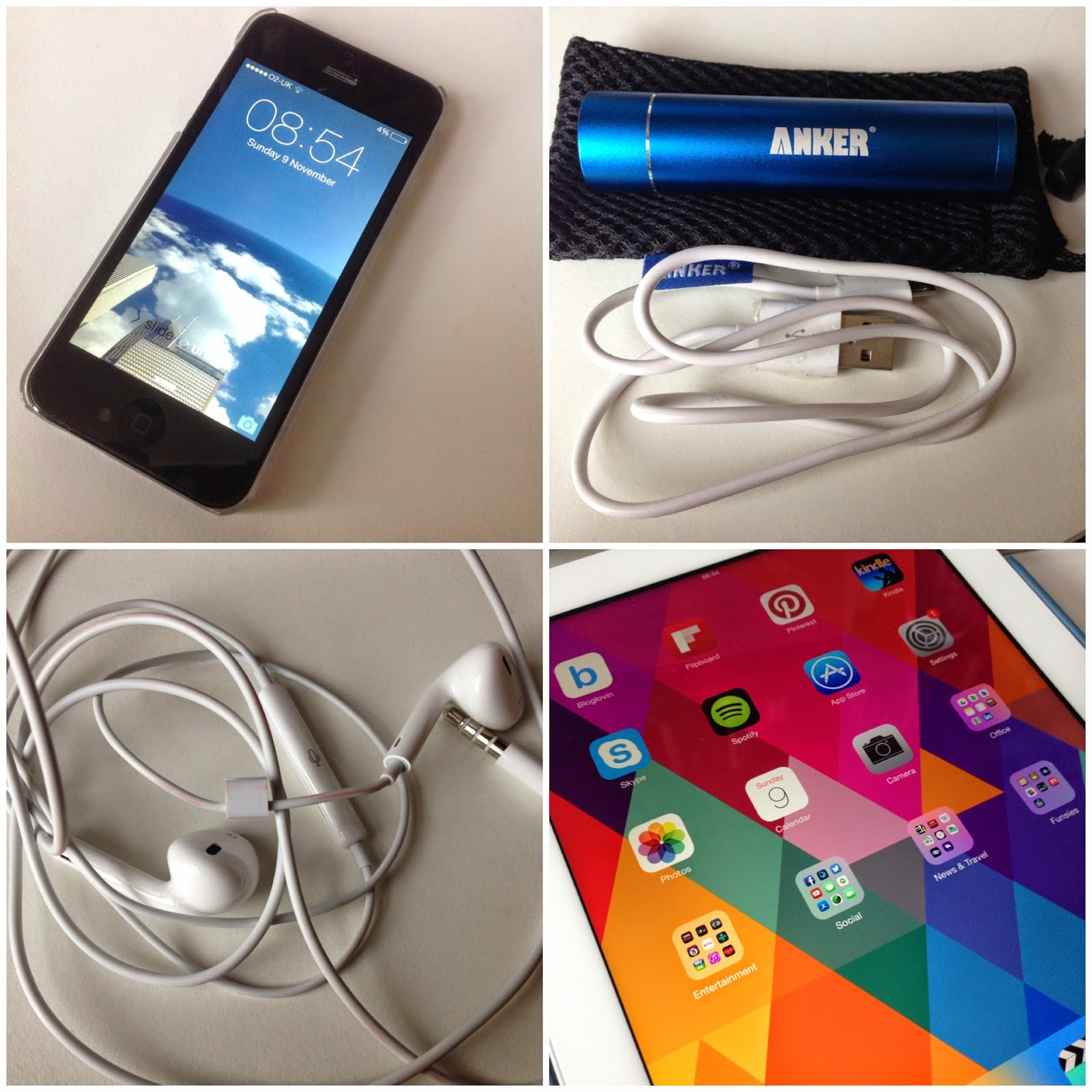 Modern Life Essentials Apple iPhone iPad Anker Charger
