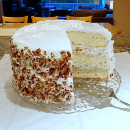 One Perfect Bite Lady Baltimore Cake