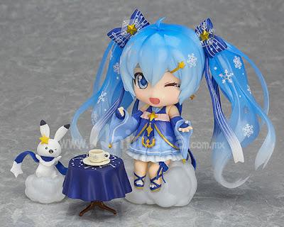 Figura Snow Miku Twinkle Snow Ver. Nendoroid Edición Limitada Hatsune Miku Vocaloid