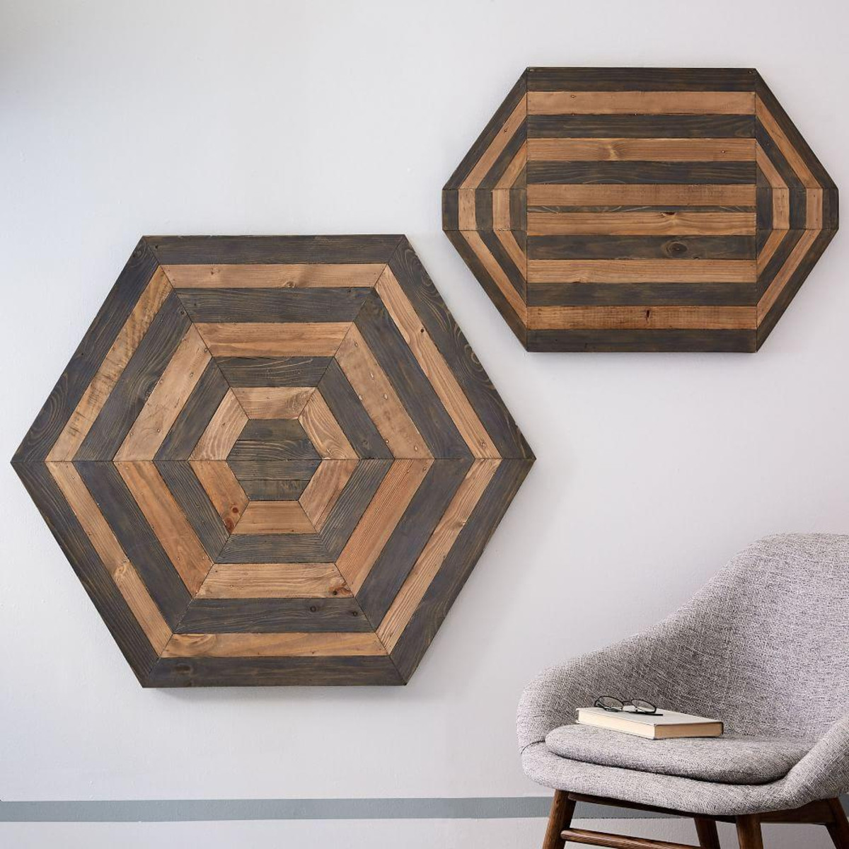 wood parquetry wall art w2422 z - WHAT TO BUY NOW - WEST ELM DISCOUNTS!