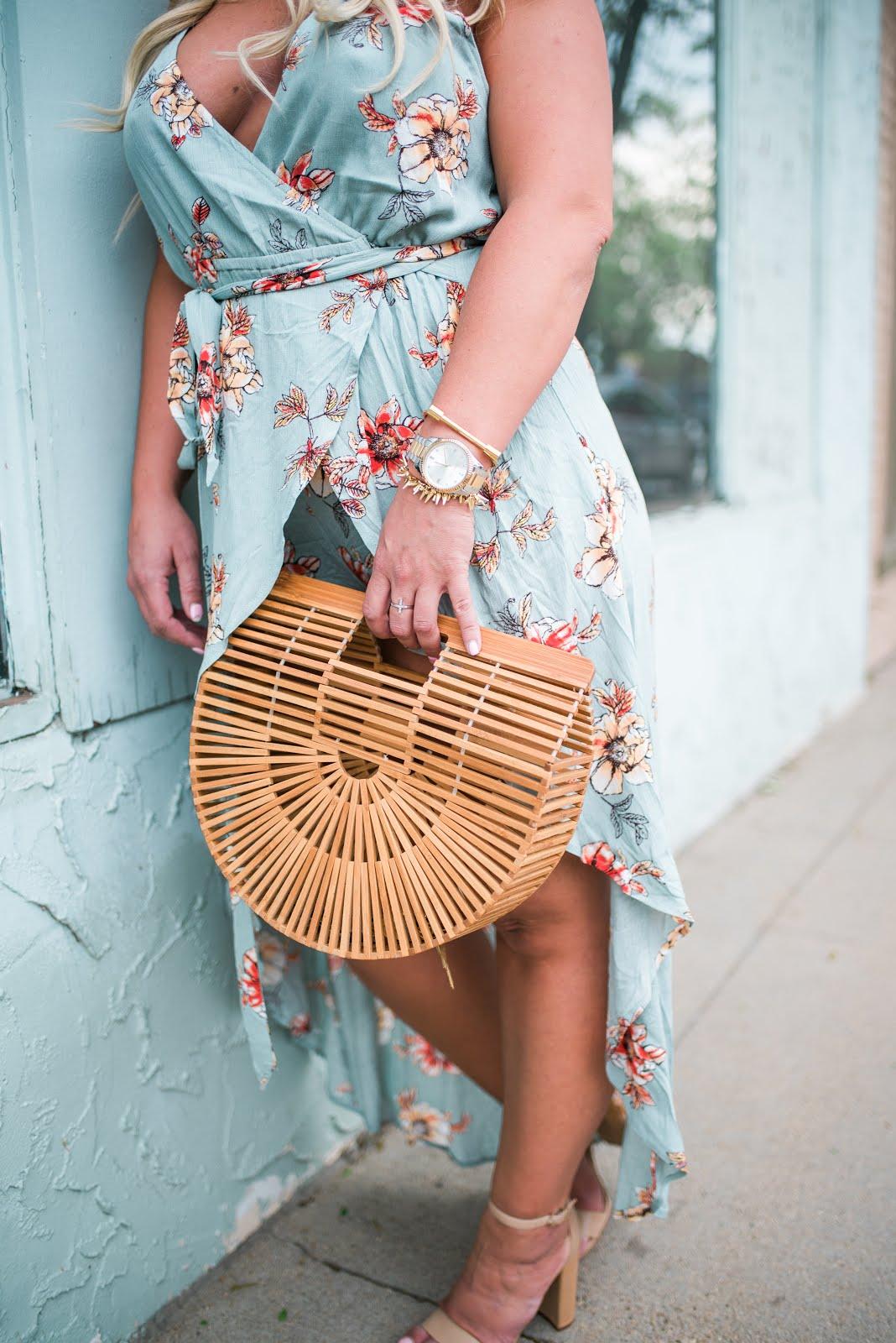 Floral Maxi Romper by Colorado fashion blogger Delayna Denaye