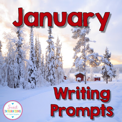 In this post, I've provided a fun snowflake activity your students will love. I also link to January writing prompts.