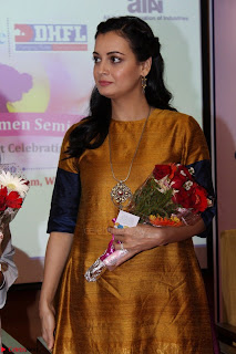 Dia Mirza Attends Power Women Seminar To Celete Womens Day 007.JPG