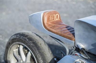 Yamaha GTS 1000 seat custom