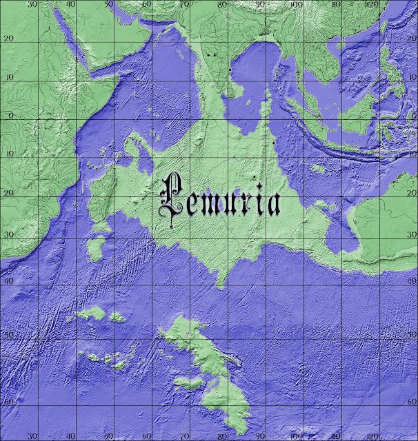 El continente de Lemuria pudo haber estado entre India y Madagascar