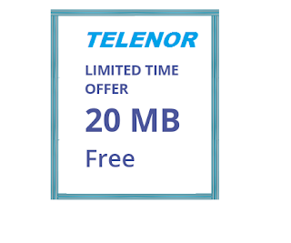 telenor free internet trick for android