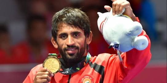 Asian Games 2018 - Wrestler Bajrang Punia wins first gold for India