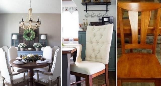 Πως θα προσθέσετε Ταπετσαρία σε απλές ξύλινες καρέκλες